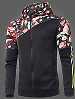 Sets Activewear Uomo Casual Con stampe Manica lunga Poliestere