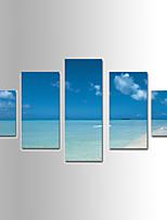 Landscape Canvas Tulosta yli 5 paneeli Valmis Hang,Mikä tahansa muoto