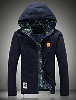 Men's Long Sleeve Jacket,Cotton Casual