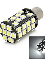exLED 1156 8W 640lm 40-SMD 5050 LED White Light Car Daytime Running Light - (12V)