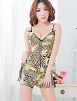 Women Chemises & Gowns Nightwear,Chiffon / Spandex