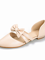 Women's Shoes Low Heel D'Orsay & Two-Piece / Comfort Sandals Dress / Casual Black / Pink / Beige