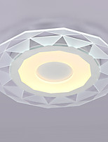 30W Modern/Contemporary LED / Dinmable Others Acrylic Flush Mount Living Room / Bedroom / Kitchen / Study Room/Office