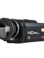 ORDRO® HDV-F5 With Wide Angle Lens 1080P Digital Video Camera External Battery Support Macro Function