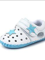 Chaussures bébé-Bleu / Rose-Habillé / Décontracté-PU-Plates