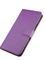 Pour Coque Nokia Portefeuille Porte Carte Avec Support Coque Coque Intégrale Coque Couleur Pleine Dur Cuir PU pour Nokia Nokia Lumia 950