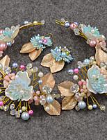 Women's / Imitation Pearl / Cubic Zirconia Headpiece-Wedding / Special Occasion / Casual / Outdoor Headbands 2 Pieces