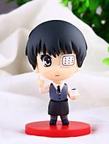 Tokyo Ghoul Jin Muyan Centipede  PVC 9CM Anime Action Figures Model Toys Doll Toy  1PCS