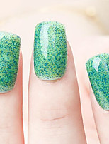 Ekbas Environmentally Safe Sugar Gum Green 16ML Glitters Nail Polish