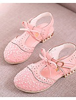Girls' Shoes Dress / Casual Mary Jane Tulle Sandals Blue / Pink / Purple