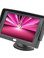 4.3 Inch TFT-LCD Car Rearview Monitor With TV