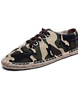 Men's Shoes Outdoor / Office & Career/Party & Evening /Athletic / Dress / Casual Canvas Fashion Sneakers Blue/Green