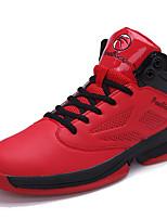 Zapatos Baloncesto Sintético Negro / Rojo / Blanco Hombre