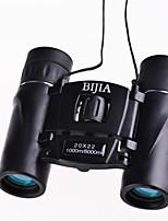 BIJIA 20 22 mm Binoculares HD BAK4Impermeable / Genérico / Prisma de azotea / Porro / Alta Definición / Alcance de la localización /