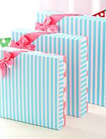 Cajas de Regalos(Azul,Papel de tarjeta) -Tema Clásico-Baby Shower / Quinceañera y Dulces Dieciséis / Cumpleaños / Matrimonio /