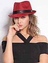 Korean Summer Tide Unisex Hat British Flax Gentleman Jazz Hat