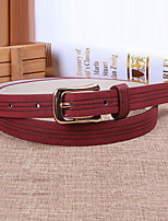 Women Leather Fashion Skinny Belt,Cute / Party / Casual Alloy