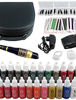solong tattoo permanente make-up kit tatoeage pen wenkbrauw lip machine instellen 23 make-up inkt ek706-1