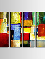 Hand-Painted ,Modern Abstract Oil Painting ,Stretched Canvas, Three Panels