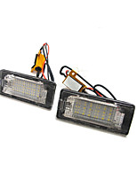 2PCS 2009-2012 Year VW Golf plus Jetta LED License Plate Lamp 12V 14W LED with Special LED Decorder