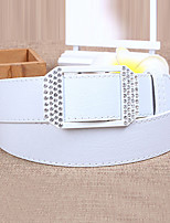 Women Leather Fashion Wide Belt,Cute / Party / Casual Alloy