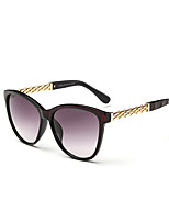 Classic Women's 100% UV Butterfly Full-Rim Oval Sunglasses Style(Assorted Color)