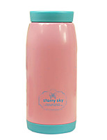 Pink Cute Creative High-capacity Vacuum Thermos Cup