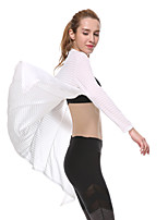 Yokaland®Yoga Toppe Hurtigtørrende / wicking / Svedreducerende Strækkende Sport Wear Yoga & Danse Sko / Pilates / Fitness / Løb Dame