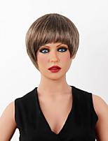 peluca de pelo peluca de cabello humano ultracorto superior de la venta corta spiffy 14 colores a elegir
