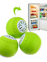 3pcs Set Fridge Ball Fruits Vegetable Fresh Odor Absorb Refrigerator