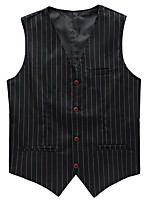 Men's Fashion Casual Striped Vest Occupation