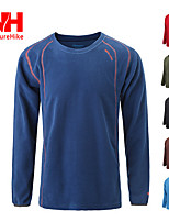 Outdoor Men's Tops Camping & Hiking / Running Breathable / Antistatic / Wicking / Thermal / Warm