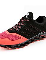 Scarpe da uomo-Sneakers alla moda-Sportivo-Tulle-Nero / Verde / Rosso