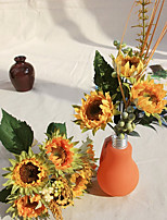 Silk Sunflowers Artificial Flowers 1pc/set