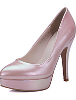 Women's Shoes Leather Stiletto Heel Heels / Platform / Pointed Toe Heels Office & Career / Dress / Casual