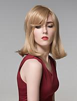 charmante crépus longue main remy droite top lié cheveux perruque capless