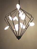 3W Luzes Pingente ,  Vintage Pintura Característica for LED MetalSala de Estar / Quarto / Sala de Jantar / Quarto de Estudo/Escritório /