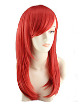 COS Color Cartoon Wig Pear Flower Has A Long Roll of Red Wig Europe And The United States Sell Like Hot Cakes