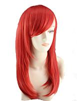 cos de la flor de la pera de la peluca de color de dibujos animados tiene un largo rollo de peluca roja Europa y los Estados Unidos venden