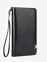 VENETA Men PU Knucklebox Clutch / Wallet / Checkbook Wallet-Brown / Red / Black