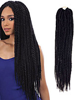 Crochet Braid Loop Pre-twist braiding senegalese twist braid 20inch x 12strands Top Quality Braiding Hair