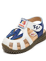 Boys' Shoes Outdoor / Athletic / Casual Leatherette Sandals / Fashion Sneakers Blue / Brown / White