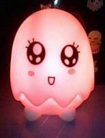 De mudança de cor da casca do ovo de acrílico colorido e encantador criativo levou luz noite lanterna pequena decoração de casa