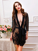 Women Western Style Sexy Robes Nightwear,Nylon / Polyester