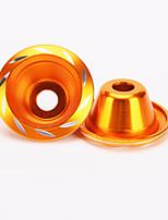 iztoss tazze di resistenza anteriore della tazza goccia ruota fonica forcella 2x per moto
