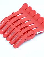 neitsi croc plastica capelli non clip slittamento clip Styling 6pcs / pack