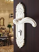 Dorlink® Contemporary Zinc Alloy White Keyed Entry Door Lock