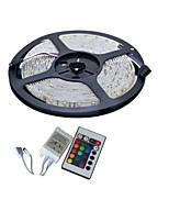 YouOkLight 5 M 300 3528 SMD RGB Cortable / Adecuadas para Vehículos / Auto-Adhesivas / Color variable 25 W Tiras LED Flexibles DC12 V