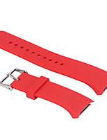 caoutchouc silicone dragonne remplacement bracelet pour samsung R720 watch engrenage s2 (small10.5cm + 6.5cm)