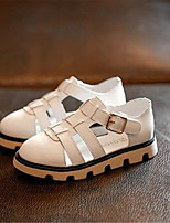 Girls' Shoes Outdoor Comfort Leatherette Sandals Black / White